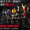 仮面ライダーの食玩新シリーズ『CONVERGE KAMEN RIDER』が2月発売!第1弾はクウガと555より全7種