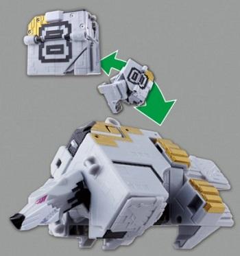 ジュウオウキューブ8 動物合体 DXキューブウルフ
