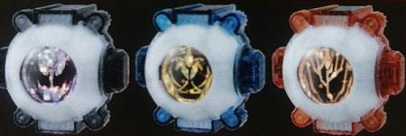 仮面ライダーゴースト『DXダークゴースト&ナポレオン&ダーウィンゴーストアイコンセット』