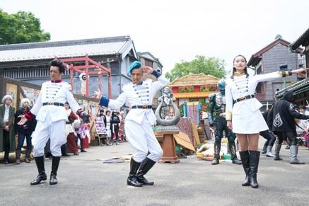 映画『仮面ライダーゴースト』で、凛子ちゃんがミニスカ&シャバドゥビタッチ変身!