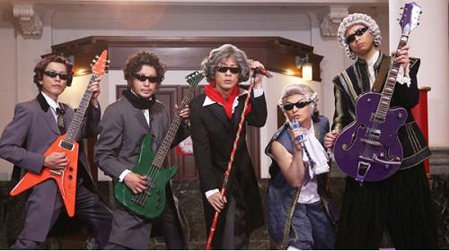 氣志團が歴史的天才音楽家役で出演!