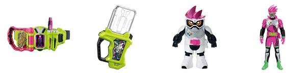 『仮面ライダーエグゼイド』のおもちゃの発売日