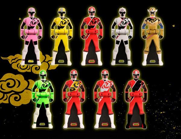 ニンニンジャー全10種は完全新規造形!