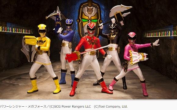 『パワーレンジャー・メガフォース』が10月10日放送開始!