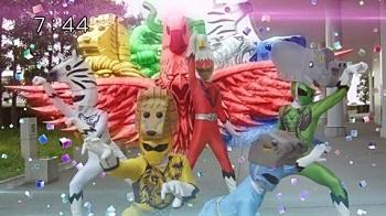 『動物戦隊ジュウオウジャー』第34話「巨獣ハンターの逆襲」