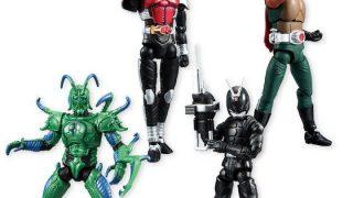 『SHODO 仮面ライダーVS5』仮面ライダーカブト、グリラスワーム、ゼクトルーパー、スカイライダーの画像公開!