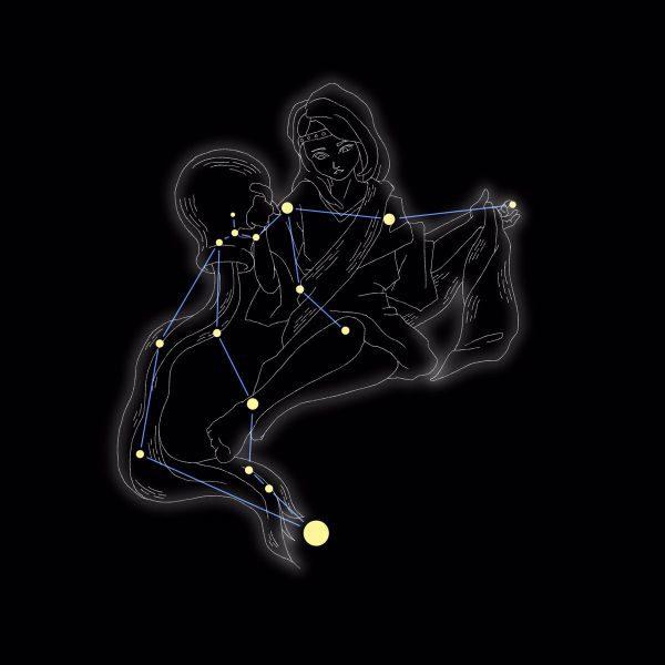 『宇宙戦隊キュウレンジャー』88星座のイラストは唐橋充さんが担当!
