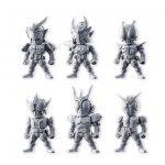 仮面ライダー 食玩『CONVERGE KAMEN RIDER 6』が6月発売!鎧武・電王・アギト・Wより全10種フルコンプ予約開始!