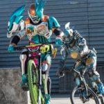 『仮面ライダーエグゼイド』第22話でエグゼイドが自転車バトル!増えた~wこれまでの自転車に乗るライダー集パート2!