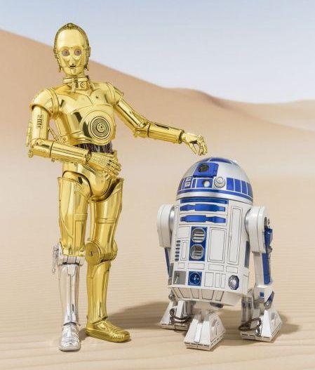 S.H.フィギュアーツ スター・ウォーズ A NEW HOPE 「R2-D2」と「C-3PO」が7月発売!