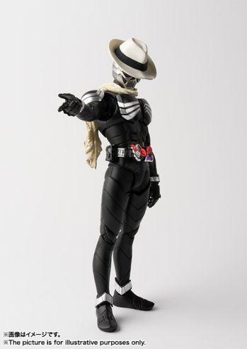 仮面ライダーW『S.H.フィギュアーツ(真骨彫製法)仮面ライダースカル』
