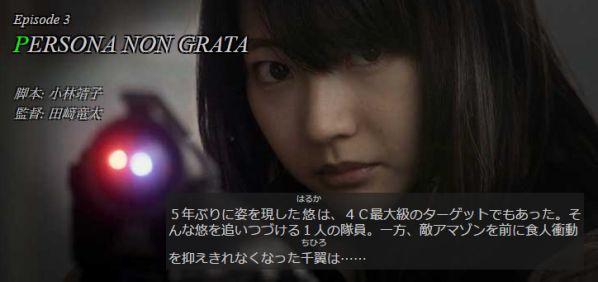 仮面ライダーアマゾンズ シーズン2 Episode3「PERSONA NON GRATA」