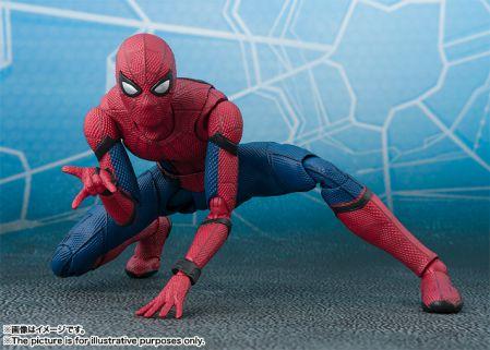 S.H.Fフィギュアーツ スパイダーマン(ホームカミング)