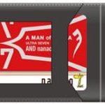 ウルトラセブン『A MAN of ULTRA』オリジナル『nanaco カード』付本革カードケースが数量限定で予約受付中!