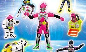 仮面ライダーエグゼイドが6月16日よりハッピーセットに登場!おもちゃは8種。週末はレベルアップライダーシールもらえる!