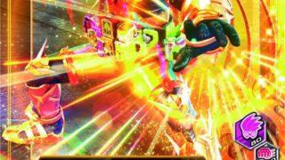仮面ライダーエグゼイド GH6弾ムテキゲーマー&レーザーターボのカードが超先行公開!いっしょにバトルにも登場中!