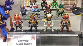 仮面ライダー食玩コンバージ6「CONVERGE KAMEN RIDER 6」のシークレットが明らかに!7月4日発売