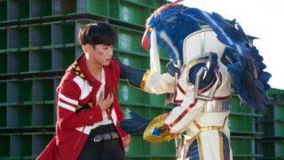 獣電戦隊キョウリュウジャーブレイブ 第10話「さらば!ブレイブキョウリュウゴールド」ブレイブギガントキョウリュウジン登場