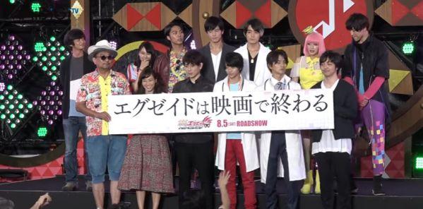 「劇場版 仮面ライダーエグゼイド トゥルー・エンディング」完成披露イベント