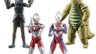 「SHODOウルトラマンVS4」が11月発売!全4種:ウルトラマンAタイプ、ウルトラマンティガ、バルタン星人、レッドキング