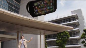 仮面ライダービルドの「マシンビルダー」はスマホがバイクに変形!