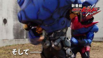『仮面ライダービルド』15秒予告編動画