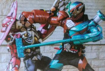 『仮面ライダービルド』のトライアルフォーム ゴリラ掃除機フォーム