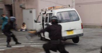 『仮面ライダービルド』第4話で滝川紗羽がカーアクション