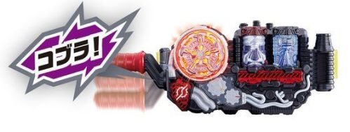 仮面ライダービルド「バルブ回転 DXスチームブレード」