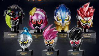 仮面ライダーエグゼイドの仮面之世界PB04発光台座セットが受注開始!全4種:スナイプ、ポッピー、パラドクス!