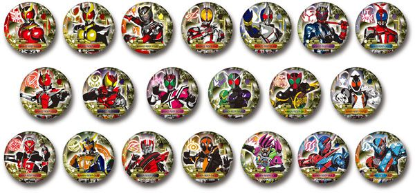仮面ライダー 缶バッジコレクション