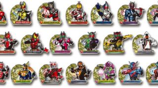 仮面ライダークウガ~仮面ライダービルドの「缶バッジコレクション」と「ピンズコレクション」全20種が1月発売!