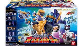 宇宙戦隊キュウレンジャー「ミニプラ06 オリオンバトラー」が10月17日発売!バトルオリオンシップが巨大ロボに変形!