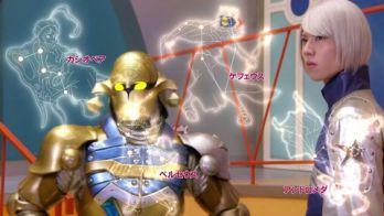 宇宙戦隊キュウレンジャー 第37話「ラッキー、父との再会」父の真実。ラッキーがシシ座系の王に!衣装はスティンガーお手製