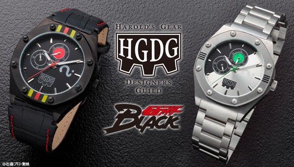 ハロルズギアDG 仮面ライダーBLACK 30周年メモリアルウォッチ BLACK MODEL/SHADOW MOONN MODEL