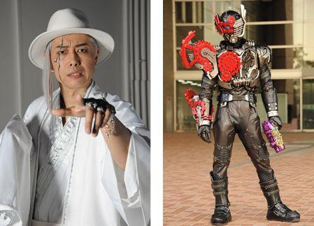 「平成ジェネレーションズFINAL」に敵キャラとして登場する最上魁星こと大槻ケンヂさん