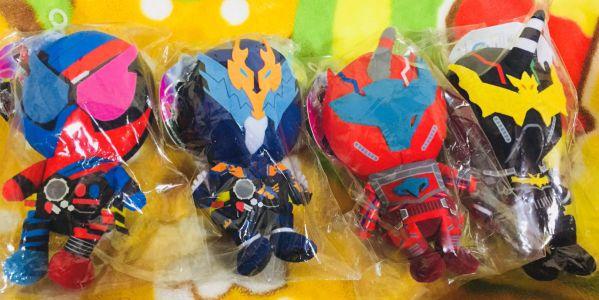 『仮面ライダービルド』超カワイイぬいぐるみが発売中!ビルド、クローズ、ナイトローグ、ブラッドスターク