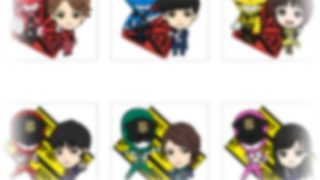 『ルパンレンジャーVSパトレンジャー』ラバーセットがプレミアムバンダイで近日発売!画像のチラ見せ可愛い~