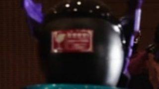 『仮面ライダービルド』4人目のライダー「仮面ライダーローグ」の後頭部にワレモノ注意のシールが!w