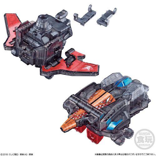 ミニプラ VSビークル合体シリーズSP01 ルパンカイザー&パトカイザー クリアver.
