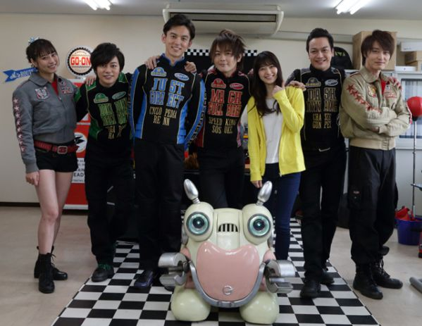 「炎神戦隊ゴーオンジャー10 YEARS GRANDPRIX」Blu-ray&DVDが9月26日発売
