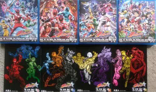 宇宙戦隊キュウレンジャー『THE NINE SHOT -ナイショの話-』全4巻