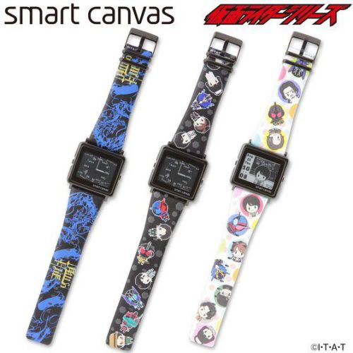 仮面ライダービルド&仮面ライダーシリーズ×[エプソン スマートキャンバス]EPSON smart canvas 腕時計