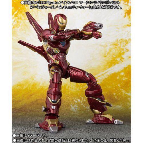 S.H.Figuarts アイアンマン マーク50 ナノウェポンセット(アベンジャーズ/インフィニティ・ウォー)