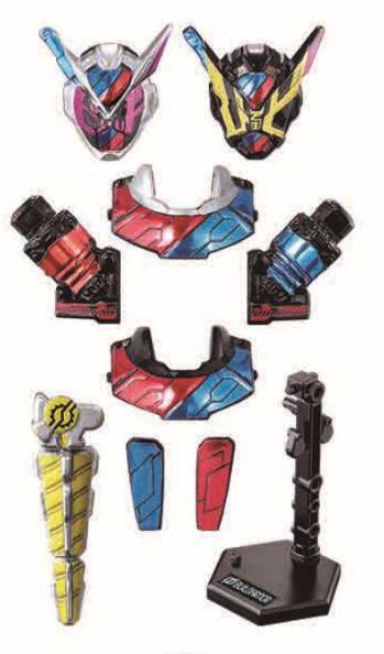 「装動 仮面ライダージオウ RIDE1」の全7種ラインナップ