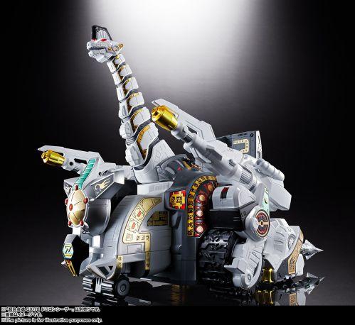 恐竜戦隊ジュウレンジャー「超合金魂 GX-85 キングブラキオン」
