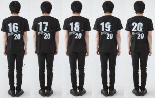 劇場版『平成仮面ライダー20作記念 仮面ライダー平成ジェネレーションズ FOREVER』ポスターTシャツ
