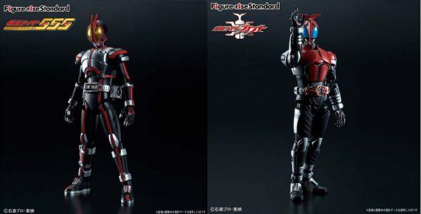 プラモデル「Figure-rise Standard」仮面ライダーファイズと仮面ライダーカブトが3月発売!11/30予約開始