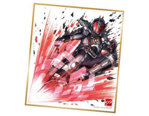 仮面ライダー色紙ART2 仮面ライダーファイズ アクセルフォーム