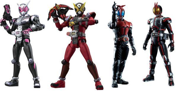 Figure-rise Standard 仮面ライダージオウ、ファイズ、カブトが3月発売!仮面ライダーゲイツが4月発売!予約開始!